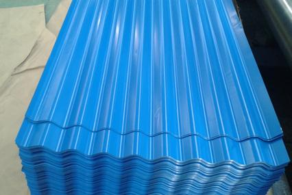 Top quality carbon steel coloured corrugated galvanized iron sheets made in China