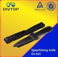 Military spearfishing /diving knife with material 420SS 306SS
