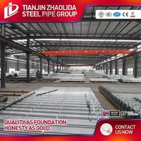 tianjin 8 inch sch 10 hot dip galvanized steel pipe/tube china supplier from Tianjin Zhaolida Steel pipe