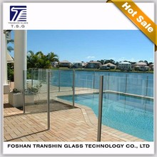 13.14mm tempered laminated glass safe railing glass China suppliers