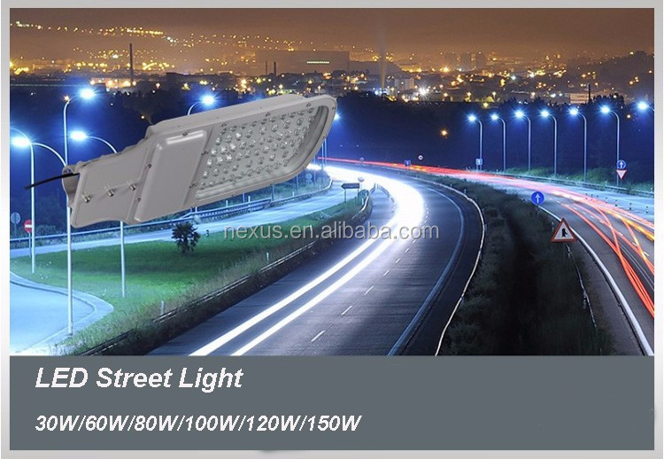 Top quality Meanwell driver Bridgelux chip outdoor ip65 120w led street light price