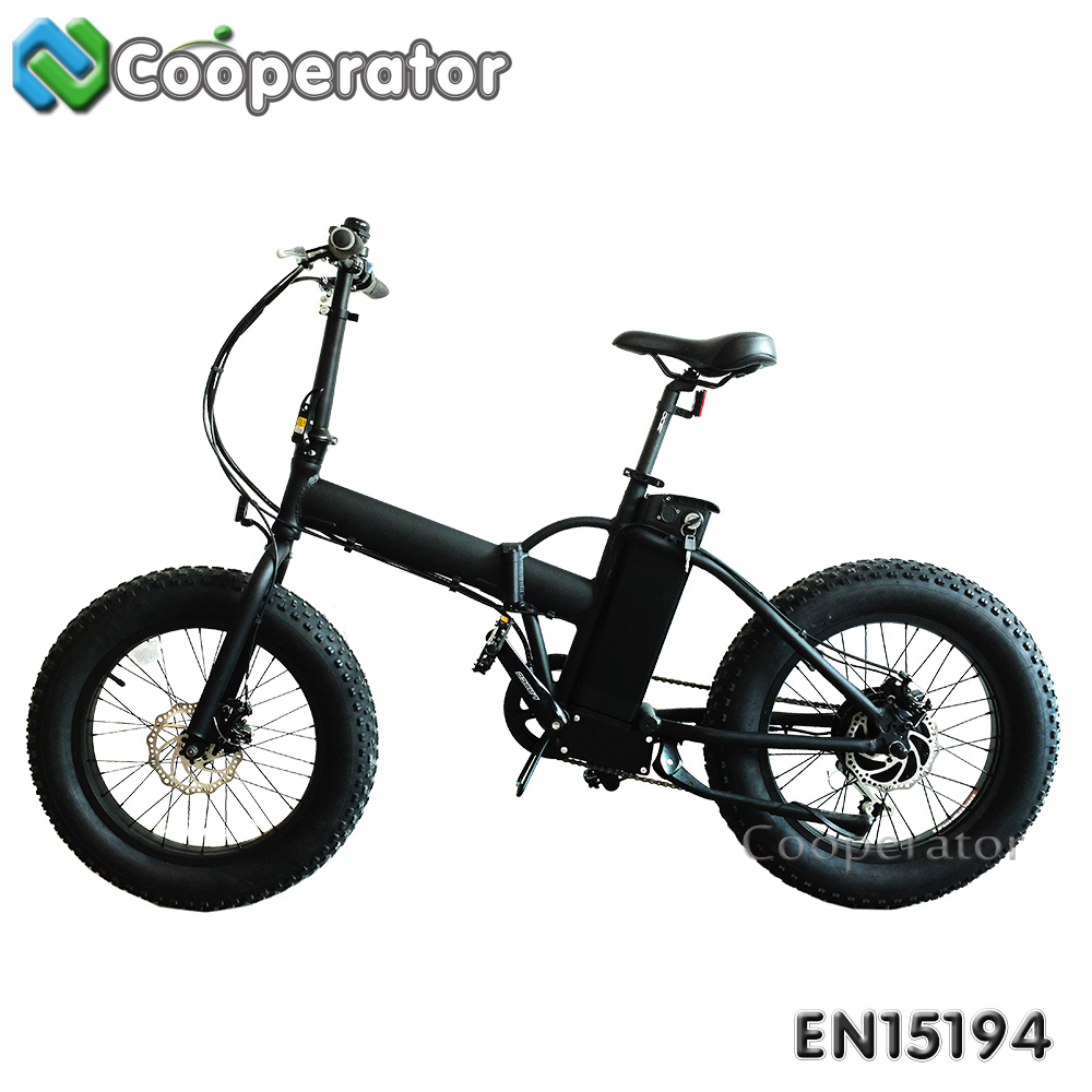 Mini type Full Suspension 20 Inch Fat Tire Folding Adult Beach Cruiser Electric Bicycle