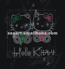 fast delivery! hello kitty hot fix motif