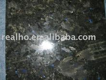 polished granite galactic blue