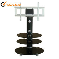 Swivel Display Stand in MDF Display modern Stand of Clothing Shop Design