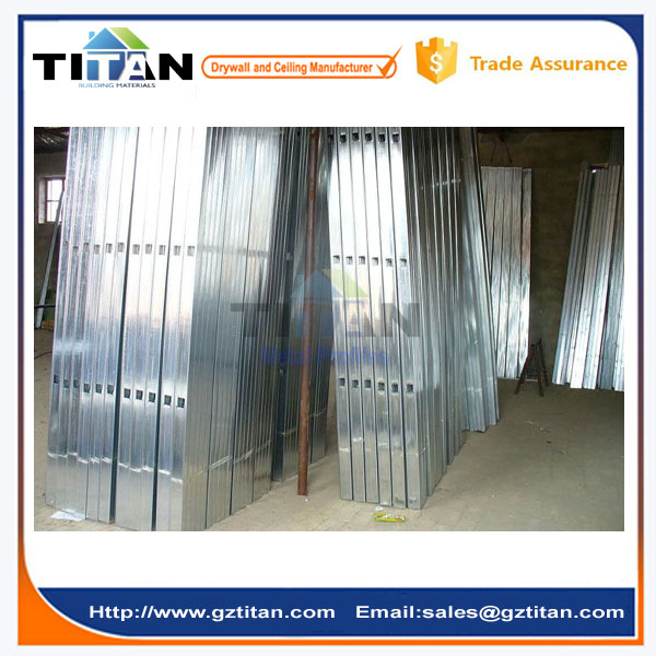 Hot Dip Galvanized Cold Rolled Galvanized C Channel Steel