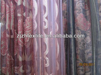 silk curtain fabric can cover th sunshin / curtain material