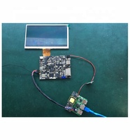 I2C Touch Screen 7 inch lcd screen module with FPC TTL 50pin rj45 poe power Android board