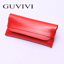 Sunglasses Case Packaging Boxes soft leather sunglasses case pu trendy