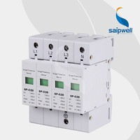 SAIPWELL High Quality SP-C20 Surge Arrestor,Lightning Arrestor,Surge Counter