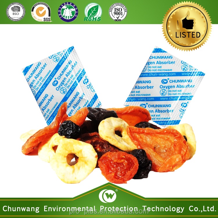 Made In China Food Additives Oxygen Absorber For Dried Fruit