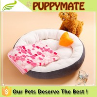 Handmade sofa dog bed sofa shape warm breathable round luxury pet dog bed