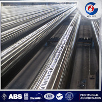 ERW black round steel tube /welded steel pipe/mild steel pipe Q235 A53 SS400