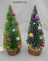 Hotselling Gifts Fiber Optic Christmas Tree with colorful mini balls ornament