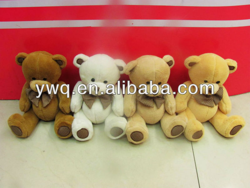 china plush bear promotion gift craft teddy bear jointed