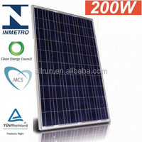 200w best price per watt solar panels for solar power system complete