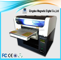 A3 desktop uv led flatbed printer multifunctional for printing pen, glass, metal, pvc card, t-shirt, phone cases 5760 * 2880 dpi