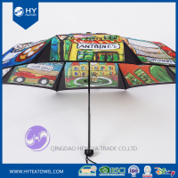 Custom Design Digital Printed Sun Umbrella
