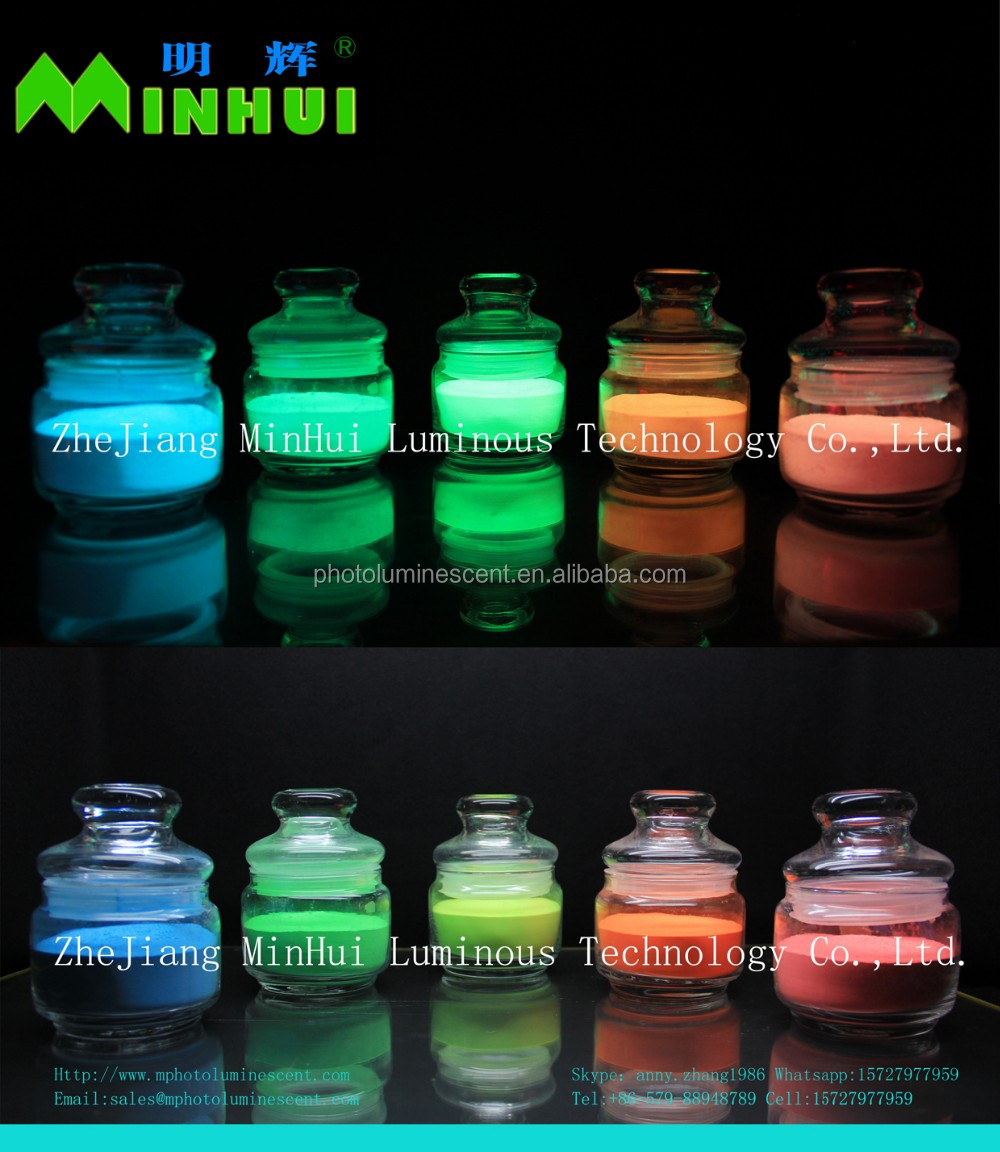 Super Glow pigment For Spray Paint
