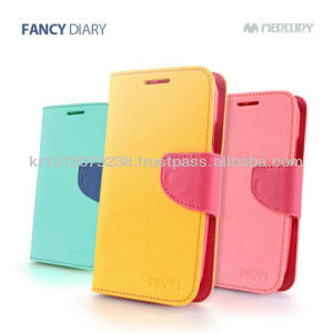 Original Mercury Fancy Diary Korea mobile smart cell phone case accessories for Iphone for Galaxy for Optimus for HTC for Xperia