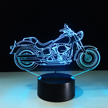 Customized Led Atmosphere Lamp 3D Decoration Table Light