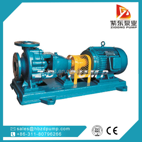 Stainless steel chemical cleaning pump