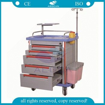 AG-ET001A1 With file bin hospital cart made in china