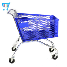 europe design shoppe grocery shop market store cart trolley metal push cart shop troley