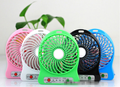 4-inch 3 Speeds Portable Electric Powered Rechargeable Desktop Fan Battery USB Powered Laptop Cool Cooler Fan with USB charge