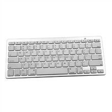 New arrival ! Hot sales!Bluetooth Wireless White Keyboard Portable for PC phone New