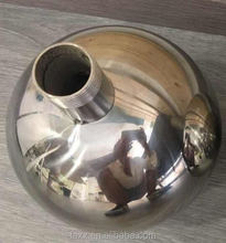 AISI 304 316 hollow Stainless steel ball as Floating ball large metal sphere