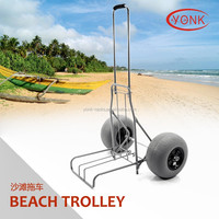 Folding Kayak Canoe Beach Cart Fishing