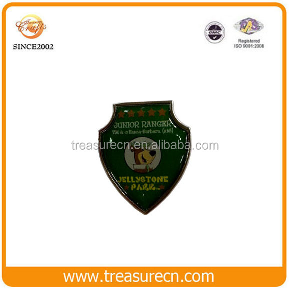 Wholesale die cast custom made metal enamel car 3d emblem badges
