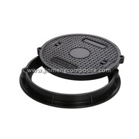 Circular Clay sand resin rust-proof QT500-7 manhole cover