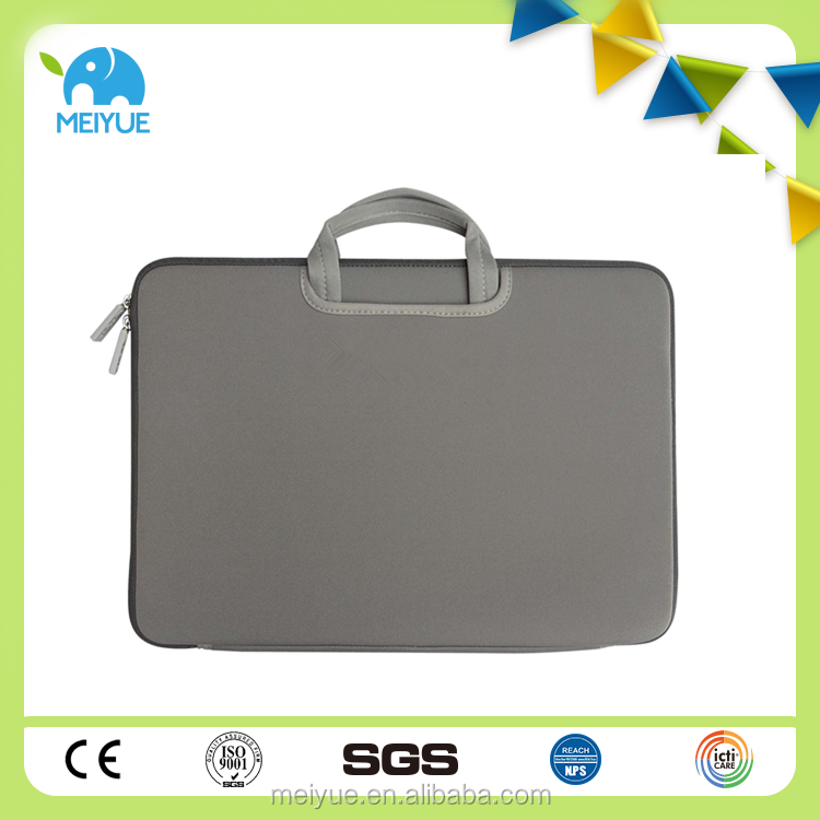 Waterproof Portable Neoprene 14 Inch Business Laptop Bag