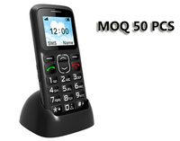 "OEM MTK6261 1.77"" C05A Very Small Size Large Button / Keypad / Font Elderly Mobile Phone with Charging Cradle (option)"