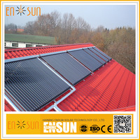 ENSUN Professional Factory Made Most Popular Water Heat Pipe Solar Collectors