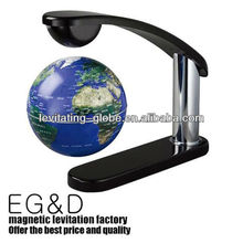 clip shape magnetic rotating floating globe, rotating levitating globe