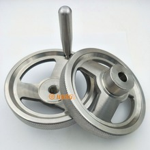 Stainless Steel Control Handwheel With Handle Grips