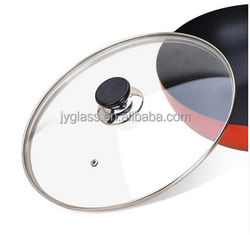 Wholesasle tempered glass lid/cover for ceramic pot