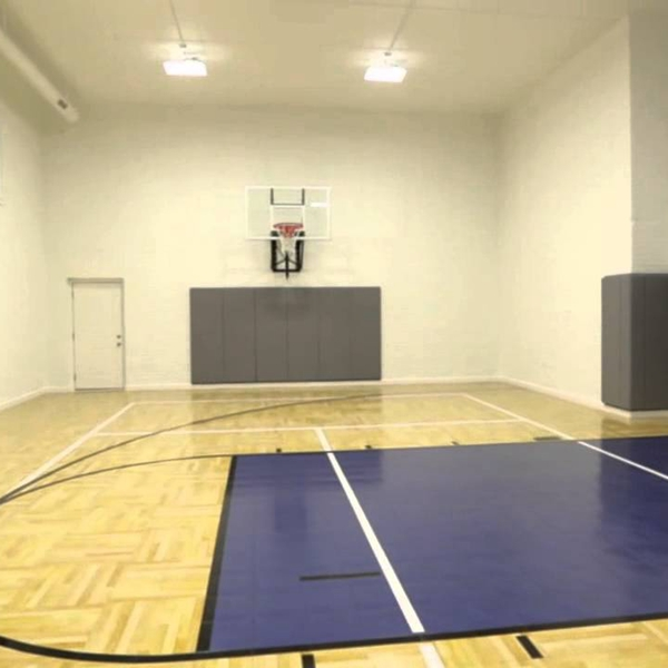 Manufacturer china Indoor Basketball Flooring Prices For Basketball Court tiles