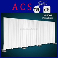 ACS 2014 Newly designed portable event backdrop stand/stand and drape for wedding decoration/wholesale pipe and drape kits