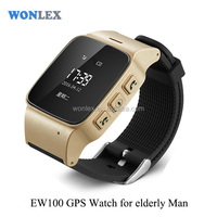 advanced google earth gps gsm vehicle tracking/LBS GPS Tracking Smart Watch GPS Watch for elderly man