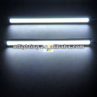 New arrival 2013 cob light source car general daytime running lights modified car high power led line lights