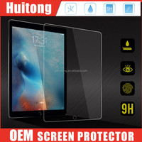 New arriver 0.33mm 2.5D rounded edge 9h tempered glass screen protective for Apple Ipad pro