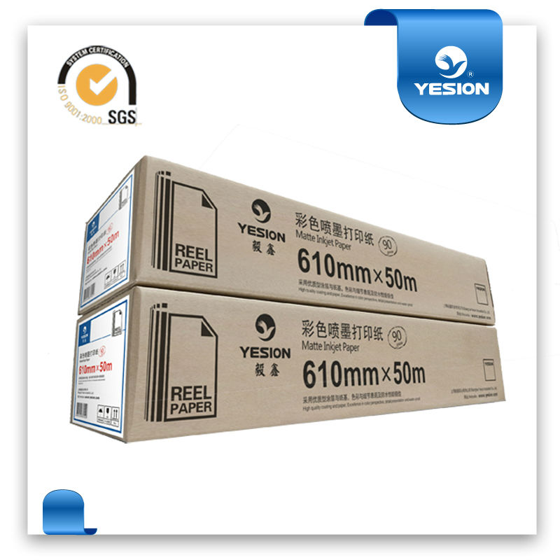 Factory ! a0 roll paper / A0 glossy/matte roll size photo paper