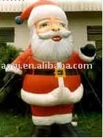 Guangzhou AOQI hard-wearing quality low price Santa Claus inflatable model for party decoration