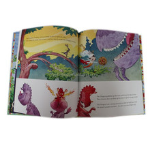 Hardcover colorful children story book printing