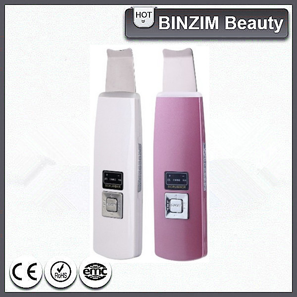 Ultrasonic ion Rechargeable skin scrubber