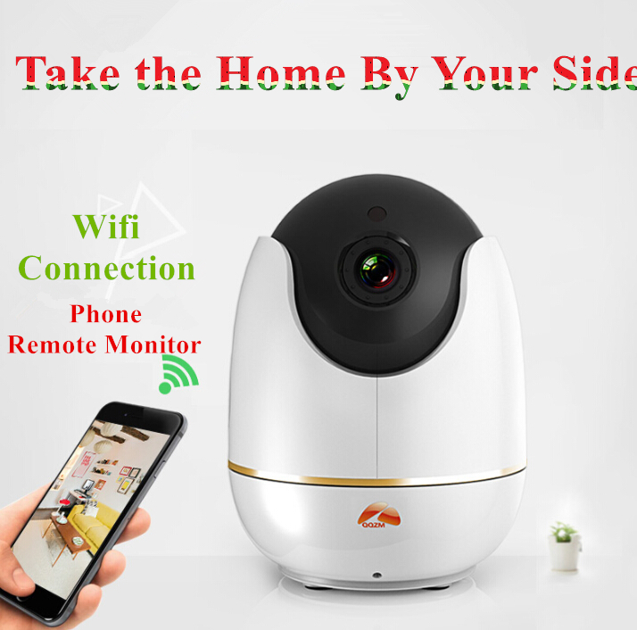 High Quality Cylinder CCTV Wifi IP Camera 720P 1080P Optional PanTilt HiSE Shipset 10M IR Night Version